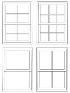Types of Sash Windows